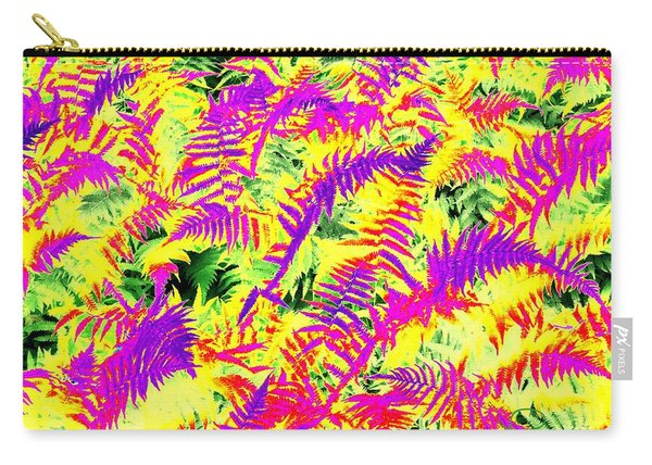 Dreaming Ferns Carry-all Pouch