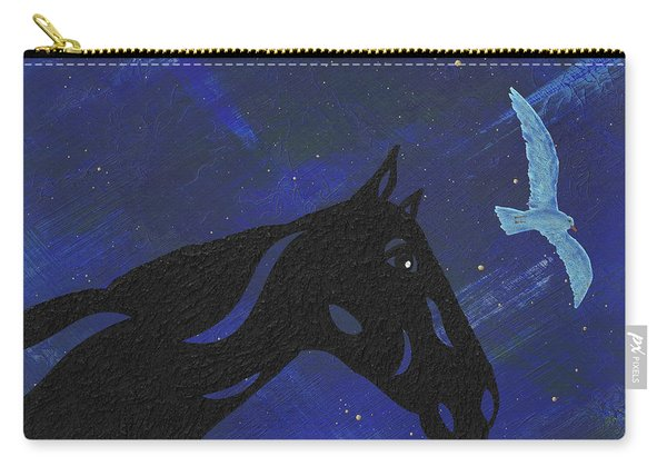 Dreaming Horse Carry-all Pouch
