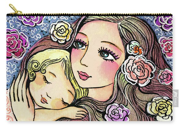 Dreaming In Roses Carry-all Pouch