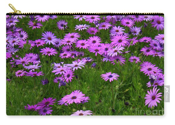 Dreaming Of Purple Daisies  Carry-all Pouch