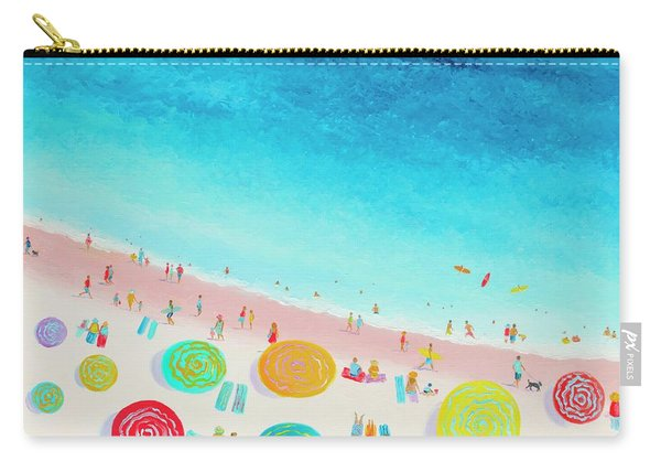 Dreaming Of Sun, Sand And Sea Carry-all Pouch