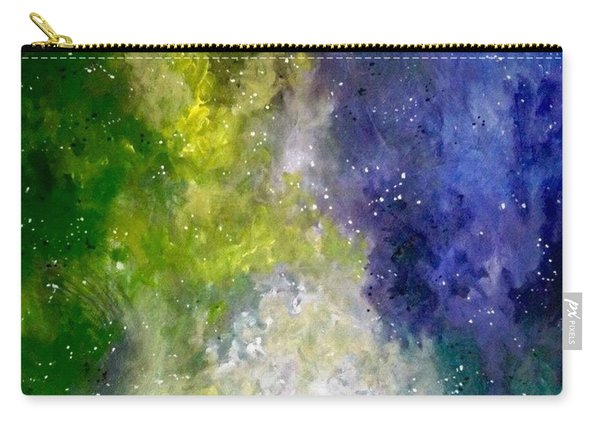Carry-all Pouch featuring the painting Dreams by Joel Tesch