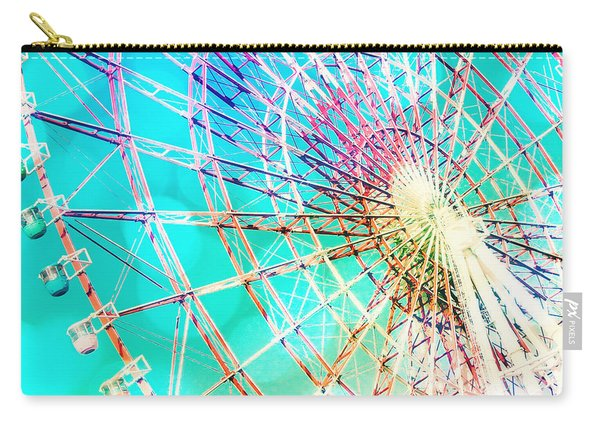 Dreamy Pastel Ferris Wheel Carry-all Pouch