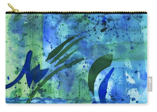 Drenched Watercolor Carry-all Pouch