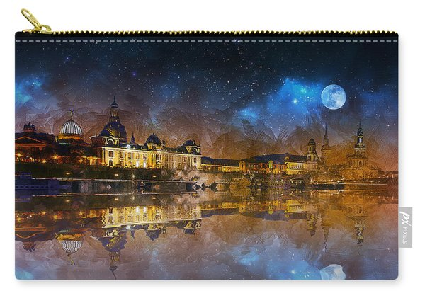 Dresden At Night Carry-all Pouch