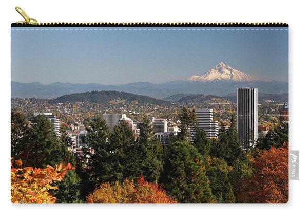 Dressed In Fall Colors Carry-all Pouch