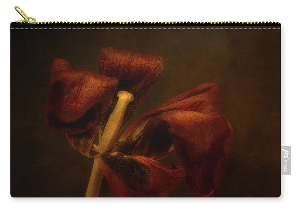 Dried Tulip Blossom 2 Carry-all Pouch