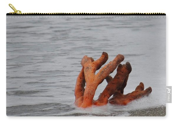 Drifting Coral Carry-all Pouch