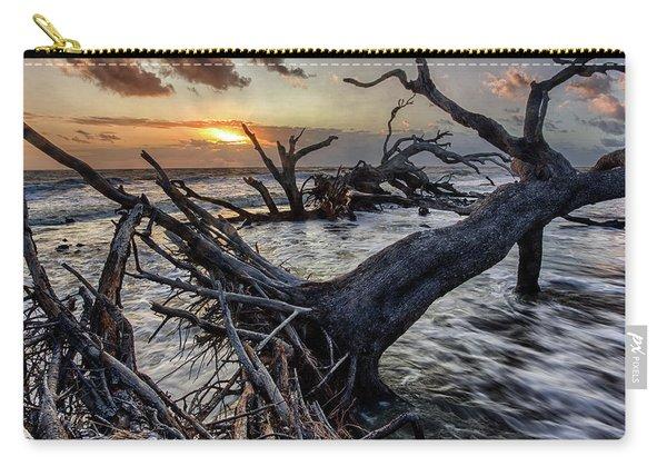 Driftwood Beach 4 Carry-all Pouch