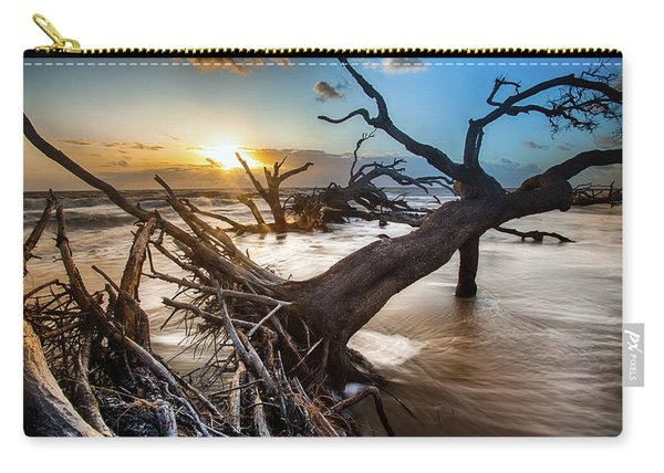 Driftwood Beach 7 Carry-all Pouch