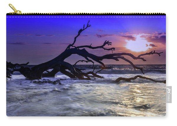 Driftwood Beach 9 Carry-all Pouch