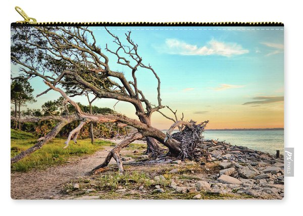 Driftwood Beach Morning 2 Carry-all Pouch