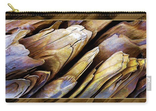 Driftwood Edges Carry-all Pouch