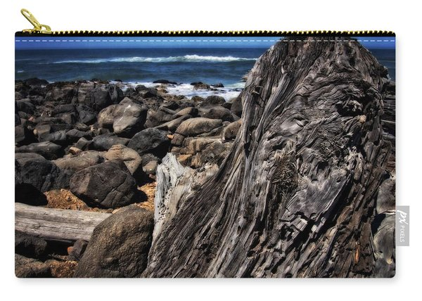 Driftwood Rocks Water Carry-all Pouch