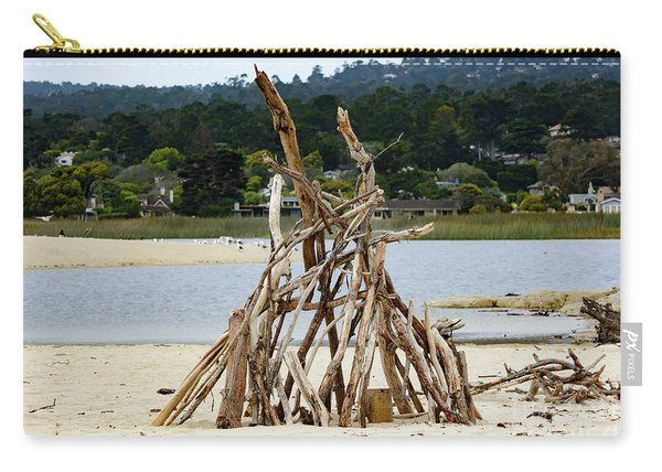Driftwood Tipi With A View Carry-all Pouch