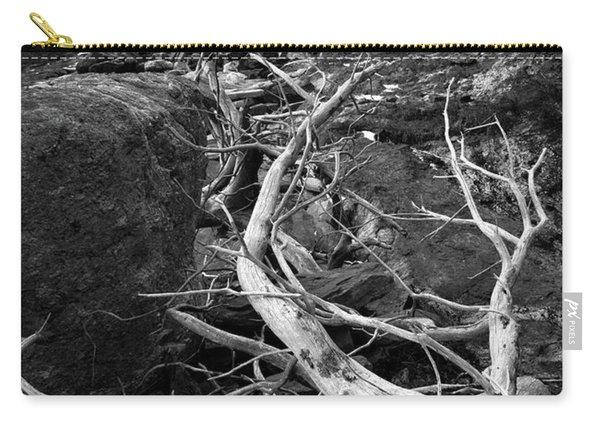Driftwood Tree, La Verna Preserve, Bristol, Maine  -20999-30003 Carry-all Pouch