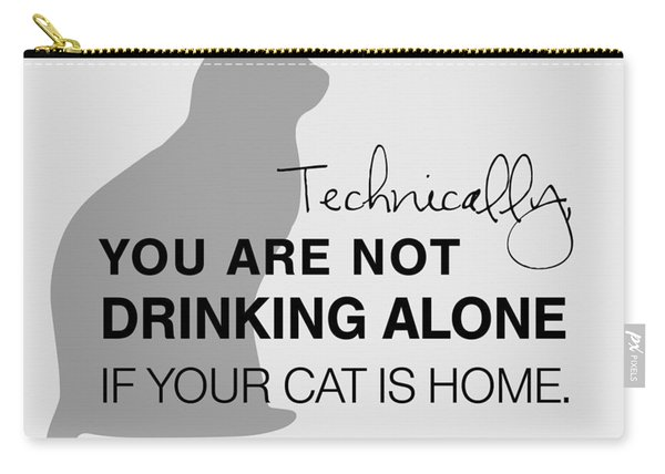 Drinking With Cats Carry-all Pouch