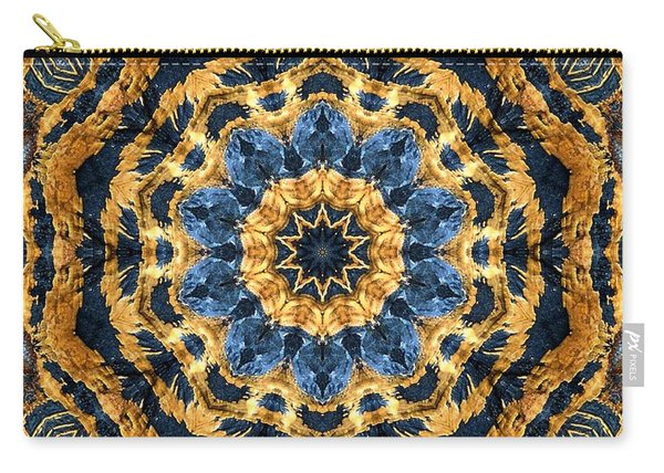Dripping Gold Kaleidoscope Carry-all Pouch