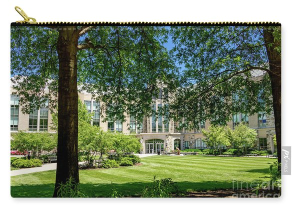 Carry-all Pouch featuring the photograph Driscoll Hall by William Norton