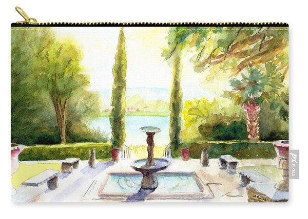Driscoll Villa Laguna Gloria Carry-all Pouch