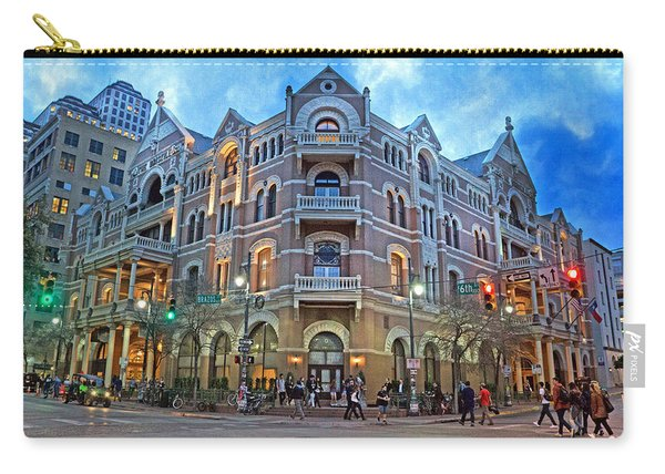 Driskill Hotel Light The Night Carry-all Pouch