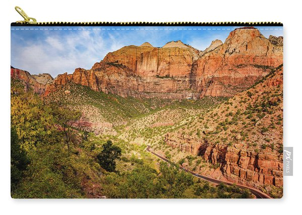 Driving Into Zion Carry-all Pouch