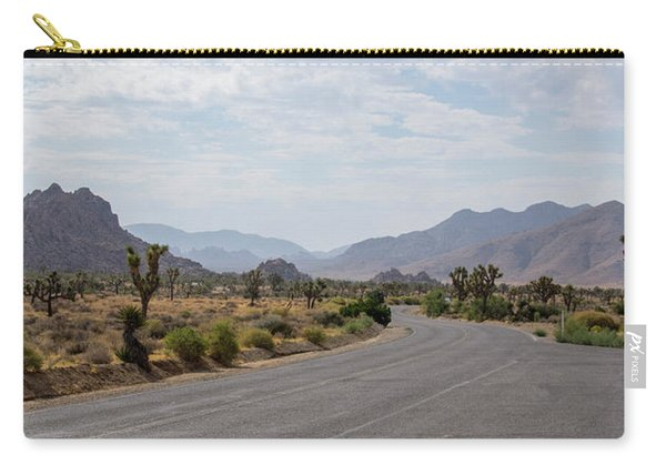 Driving Through Joshua Tree National Park Carry-all Pouch