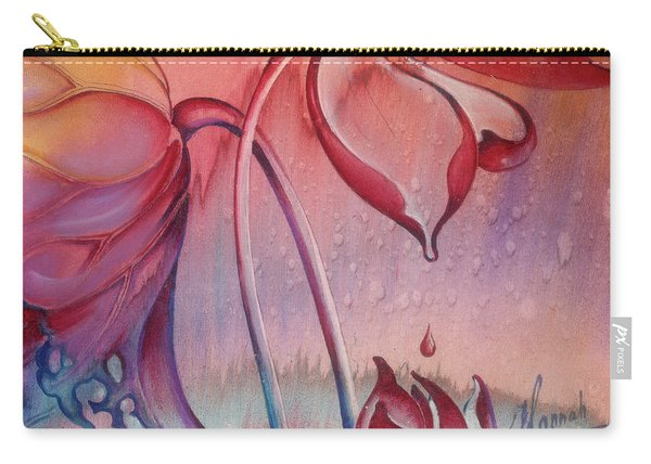 Drop Of Love Carry-all Pouch