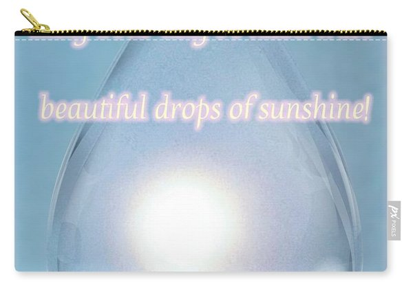 Drops Of Sunshine Carry-all Pouch