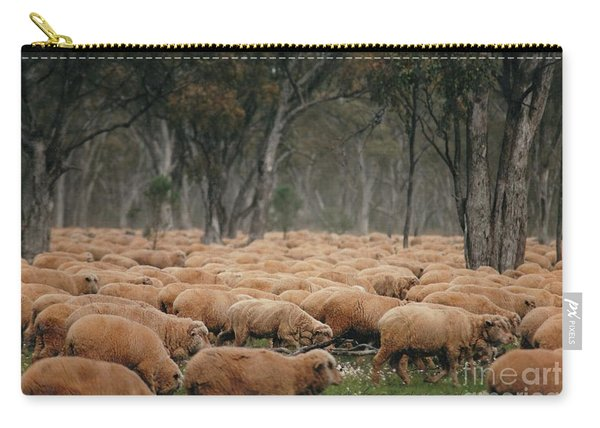 Droving Sheep  At Albert Australia Carry-all Pouch