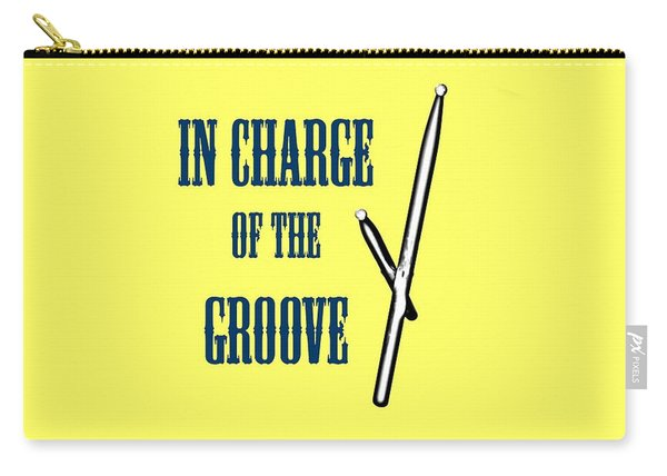 Drums In Charge Of The Groove 5529.02 Carry-all Pouch