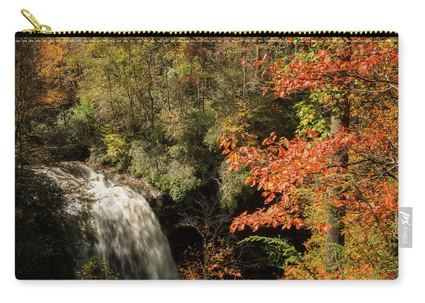 Dry Falls In North Carolina Carry-all Pouch
