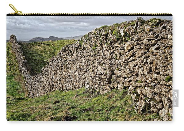 Dry Stone Wall In The Yorkshire Dales Carry-all Pouch