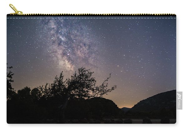 Dry Tree Under The Stars Carry-all Pouch