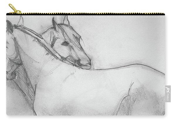 Dual Massage Sketch Carry-all Pouch