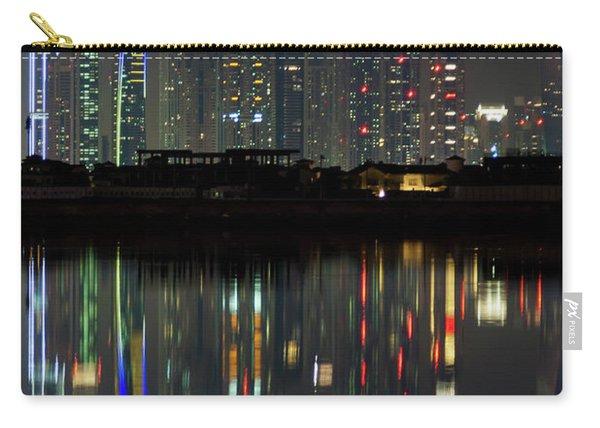 Dubai City Skyline Nighttime  Carry-all Pouch