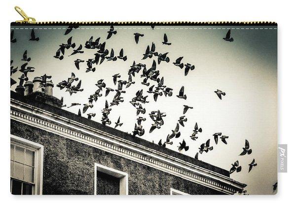 Flight Over Oscar Wilde's Hood, Dublin Carry-all Pouch