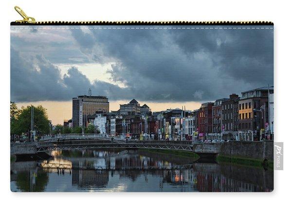 Dublin Sky At Sunset Carry-all Pouch
