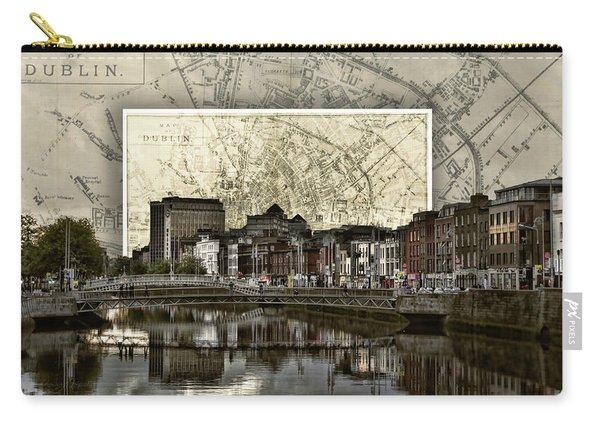 Dublin Skyline Mapped Carry-all Pouch