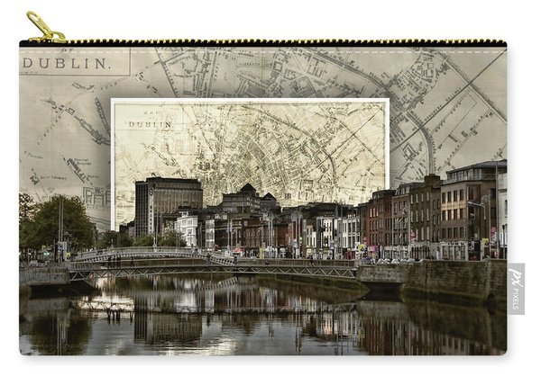 Dublin Skyline Mapped Carry-all Pouch