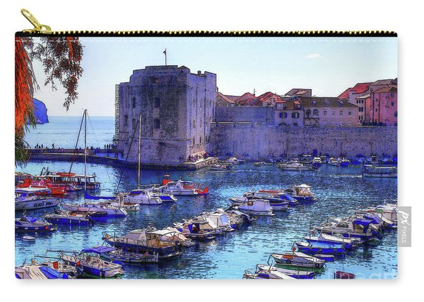 Dubrovnik Harbour Carry-all Pouch