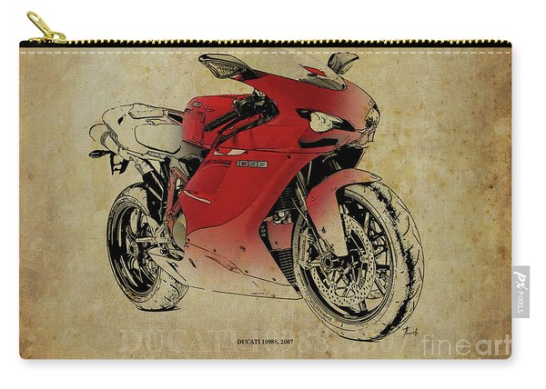 Ducati 1098s, Gift For Bikers, Original Gift For Dad Carry-all Pouch