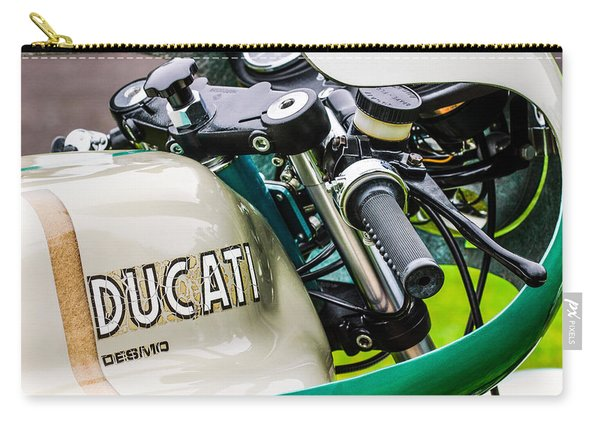 Ducati Desmo Motorcycle -2127c Carry-all Pouch
