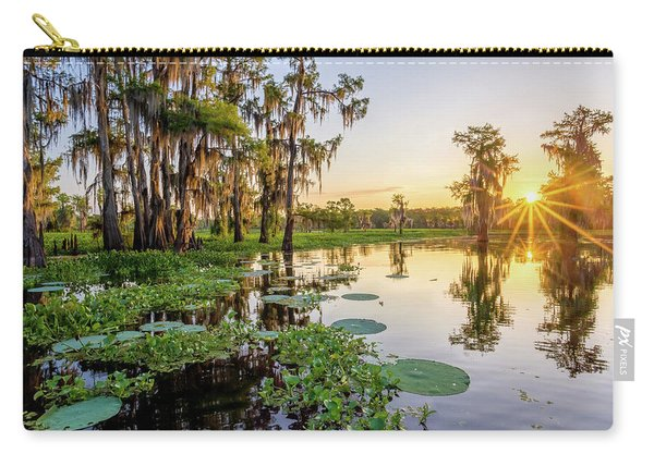 Duck Lake Sunrise Carry-all Pouch