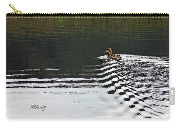 Duck On Ripple Wake Carry-all Pouch