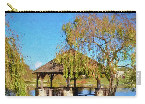 Duck Pond Gazebo At Virginia Tech Carry-all Pouch