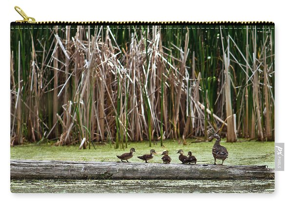 Ducks All In A Row Carry-all Pouch