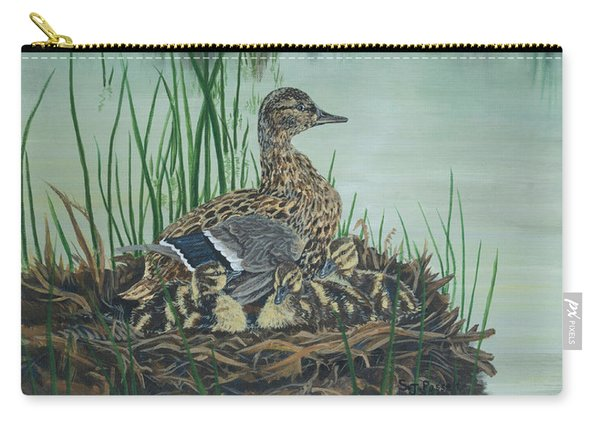 Ducks In Lifting Fog Carry-all Pouch