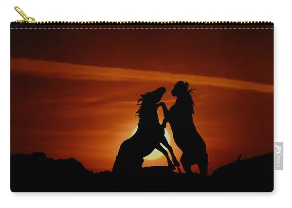 Duel At Sundown Carry-all Pouch