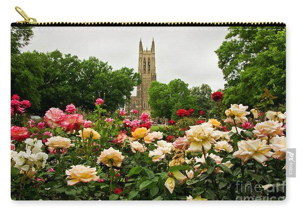 Duke Chapel And Roses Carry-all Pouch